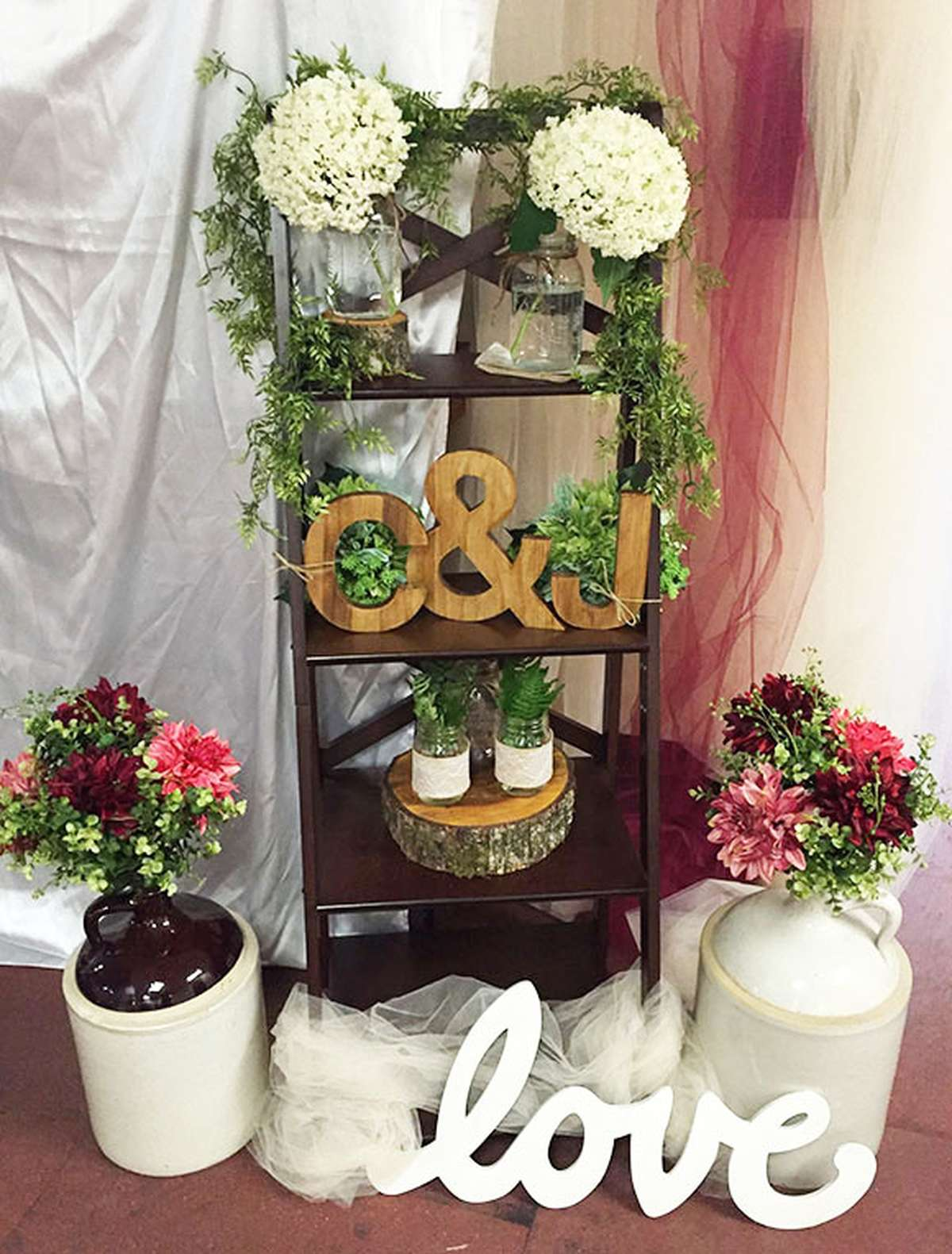 DIY Rust Wedding Decor
