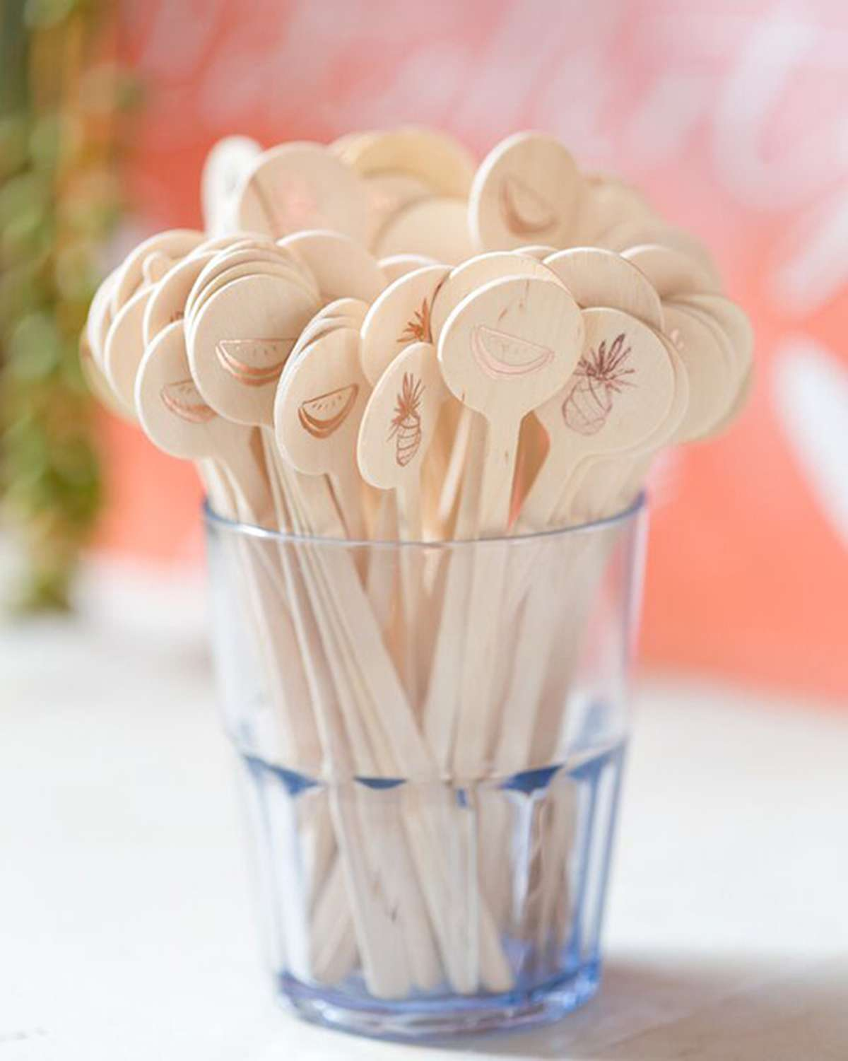 Personalized Cocktail Stirrers