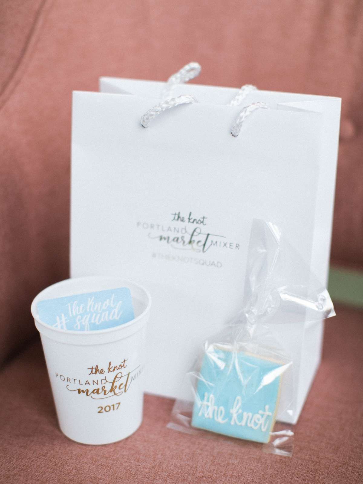custom party bags and personalized cups for party favors