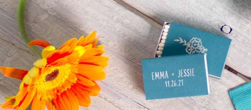 shop personalized matches for your party