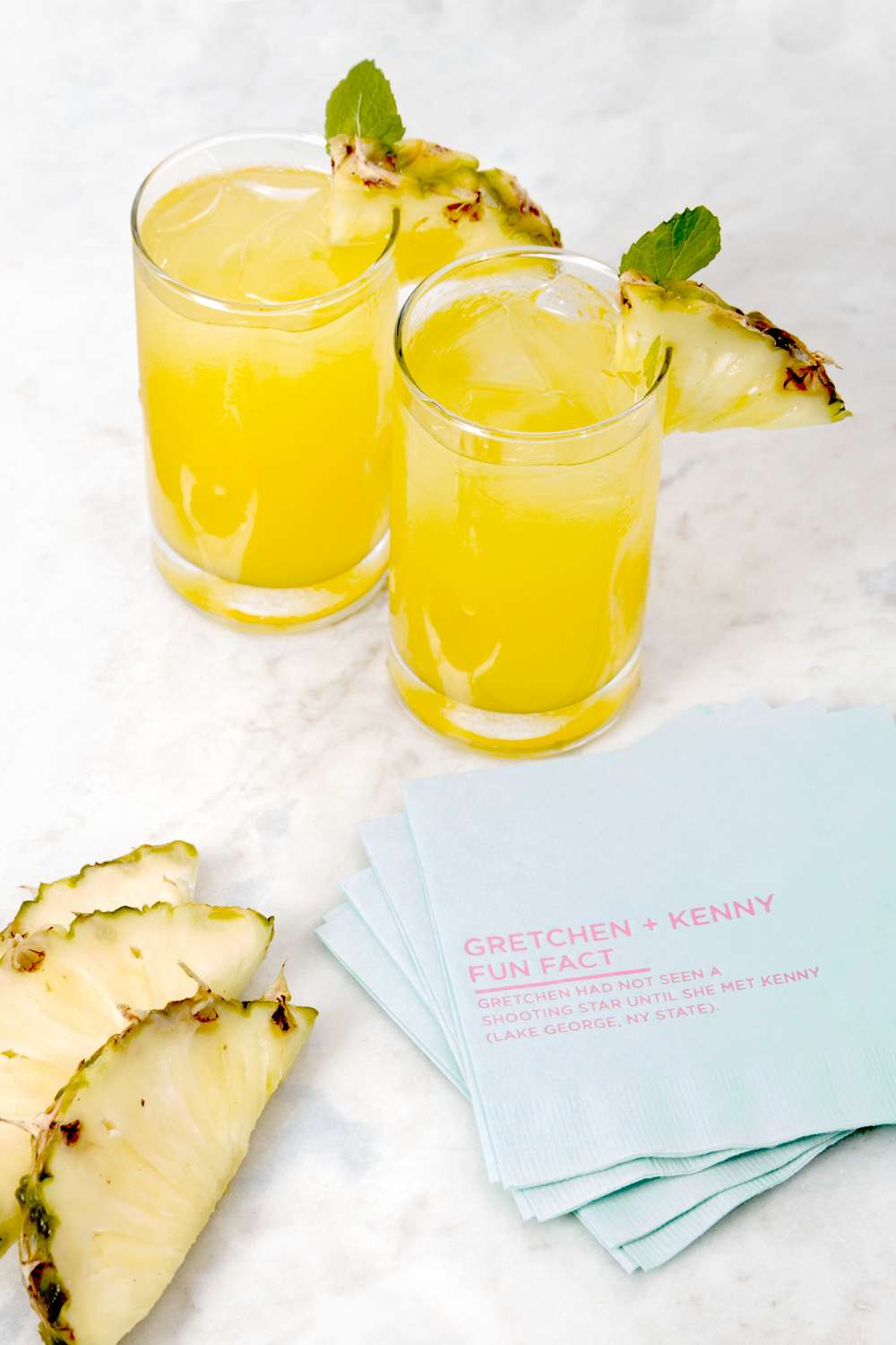 Pineapple Rum Punch cocktail recipe