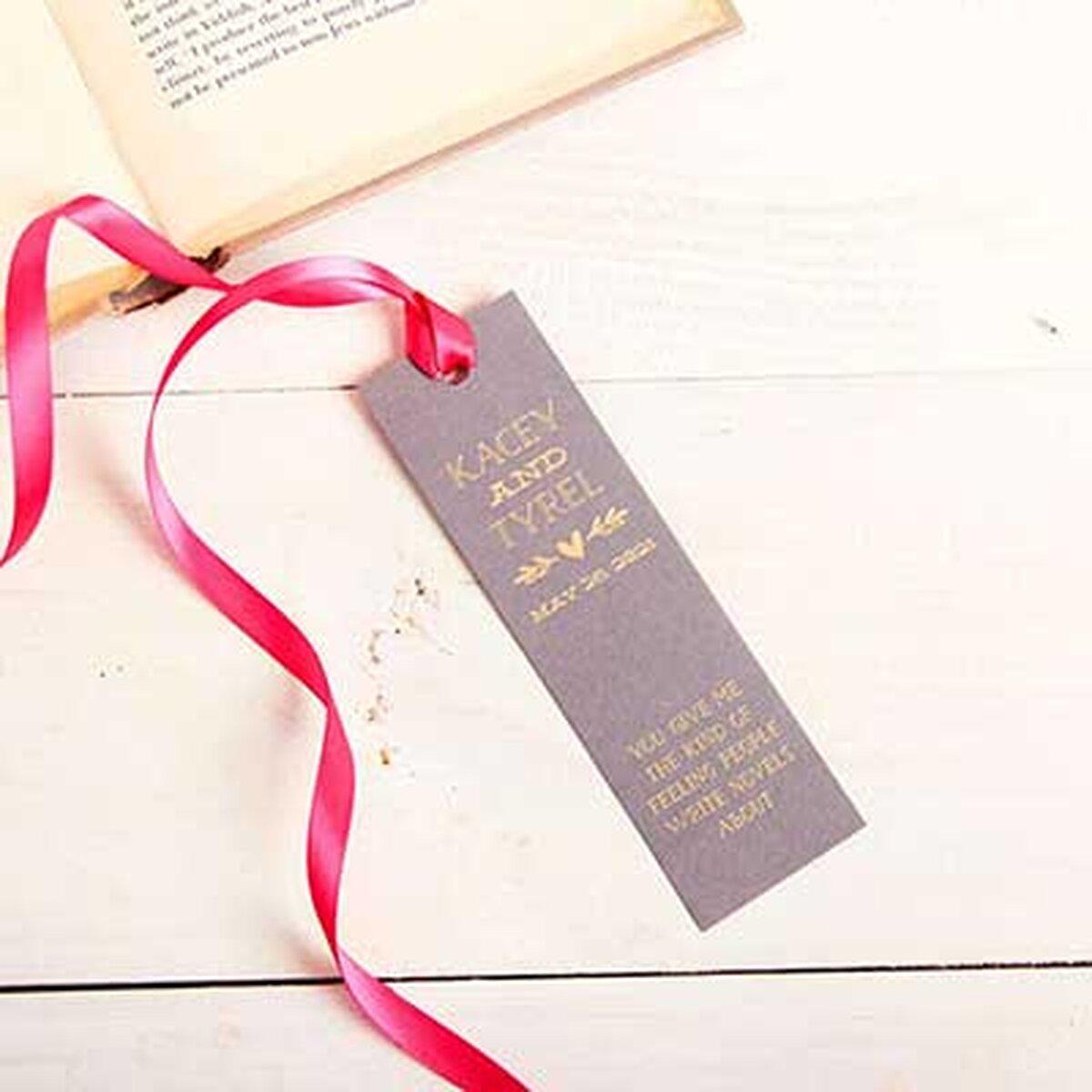 bookmark wedding favors - Roho.4senses.co