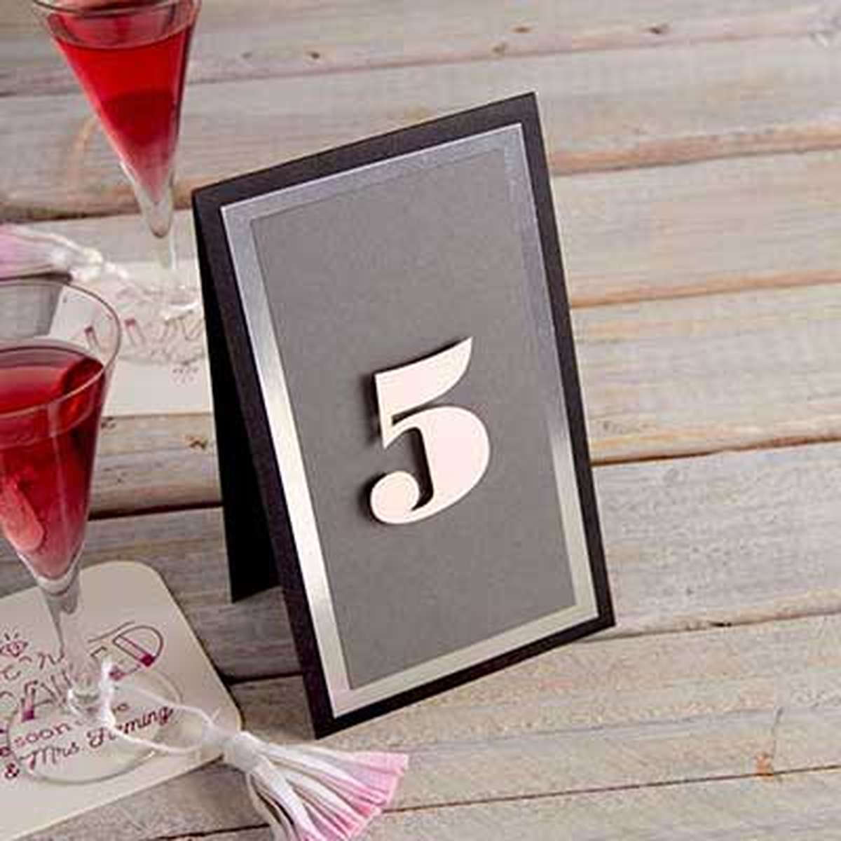 Trio Euro Table Number
