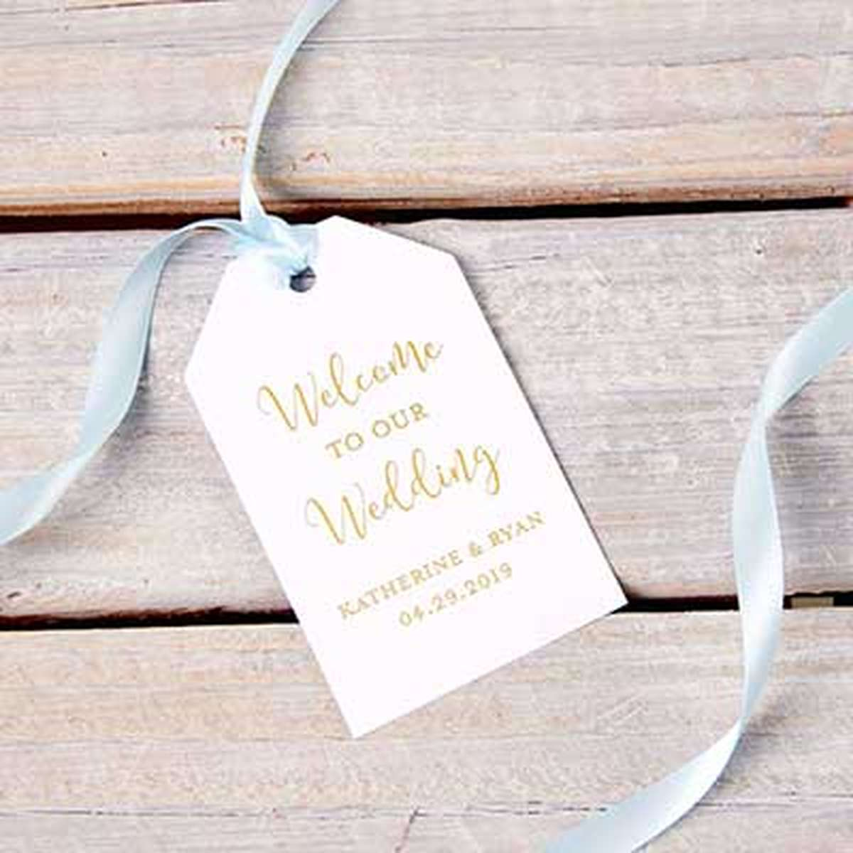 Personalized Gift Tags | Custom Gift Bag & Favor Tags | For Your Party