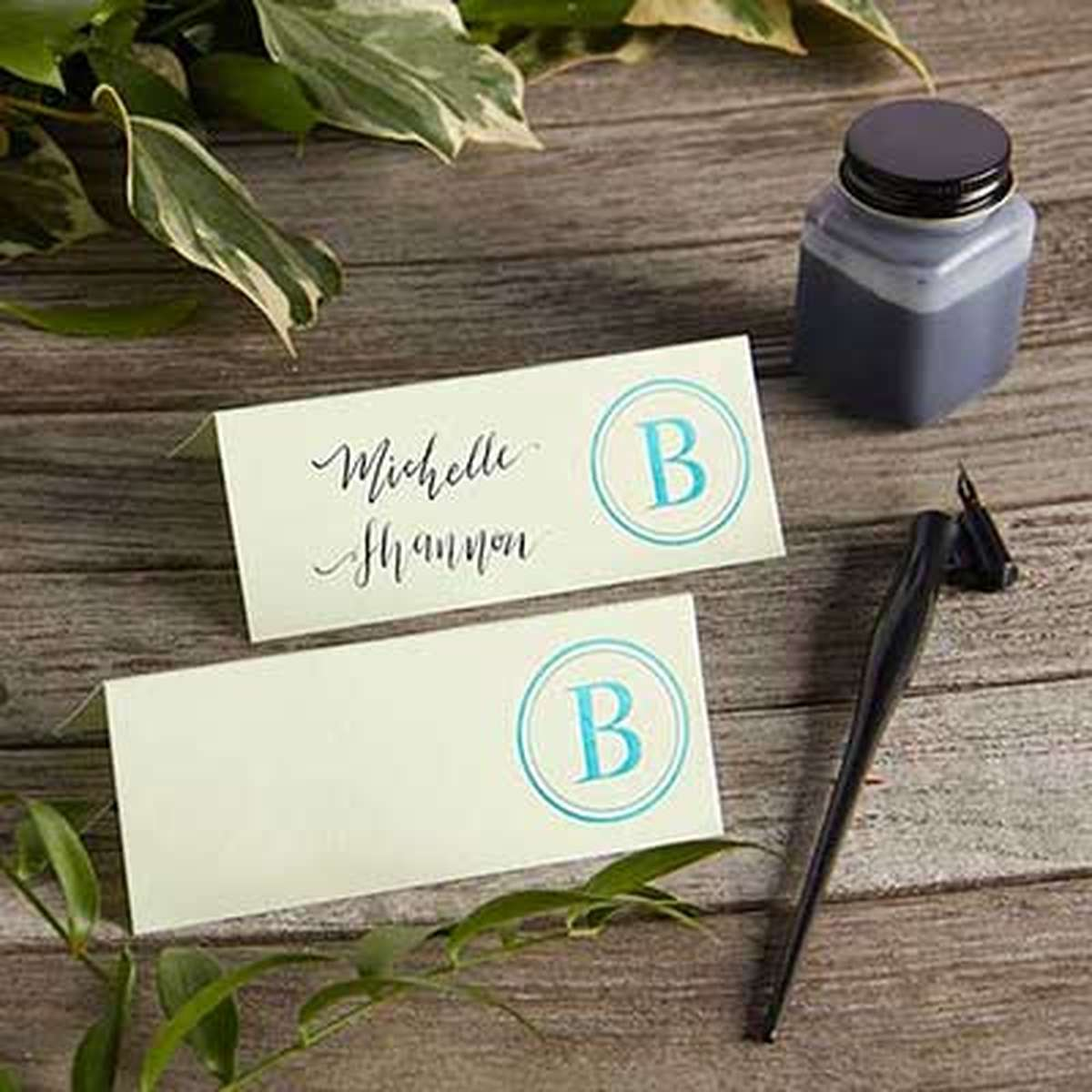 Personalized Place Cards Runway