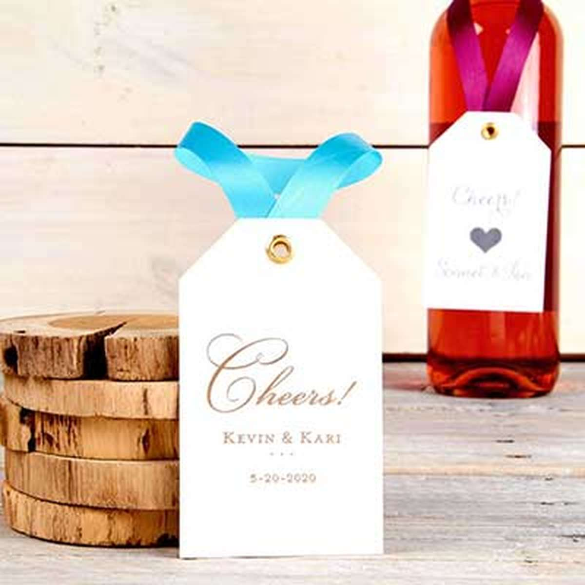custom wine bottle tag