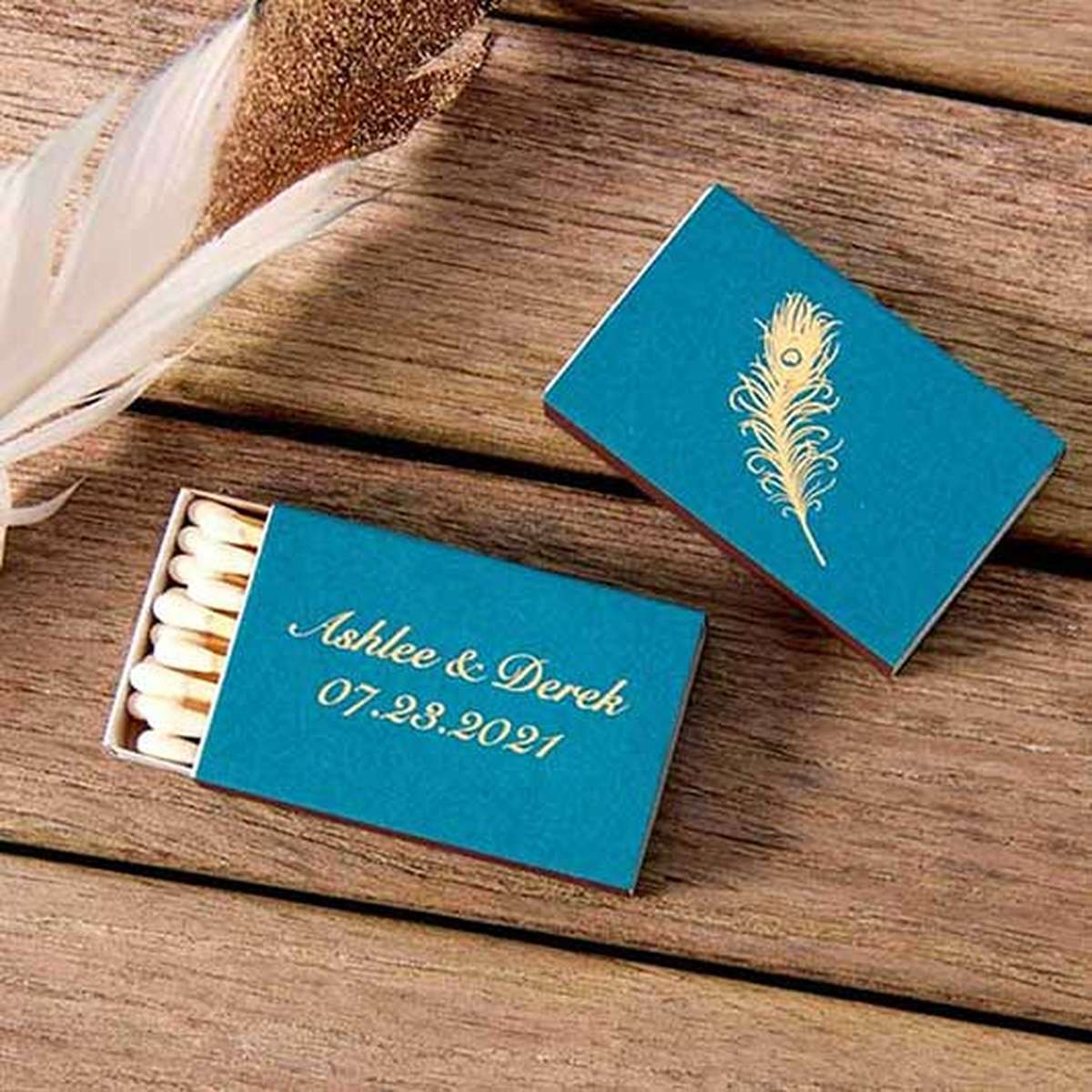 personalized party favor matches