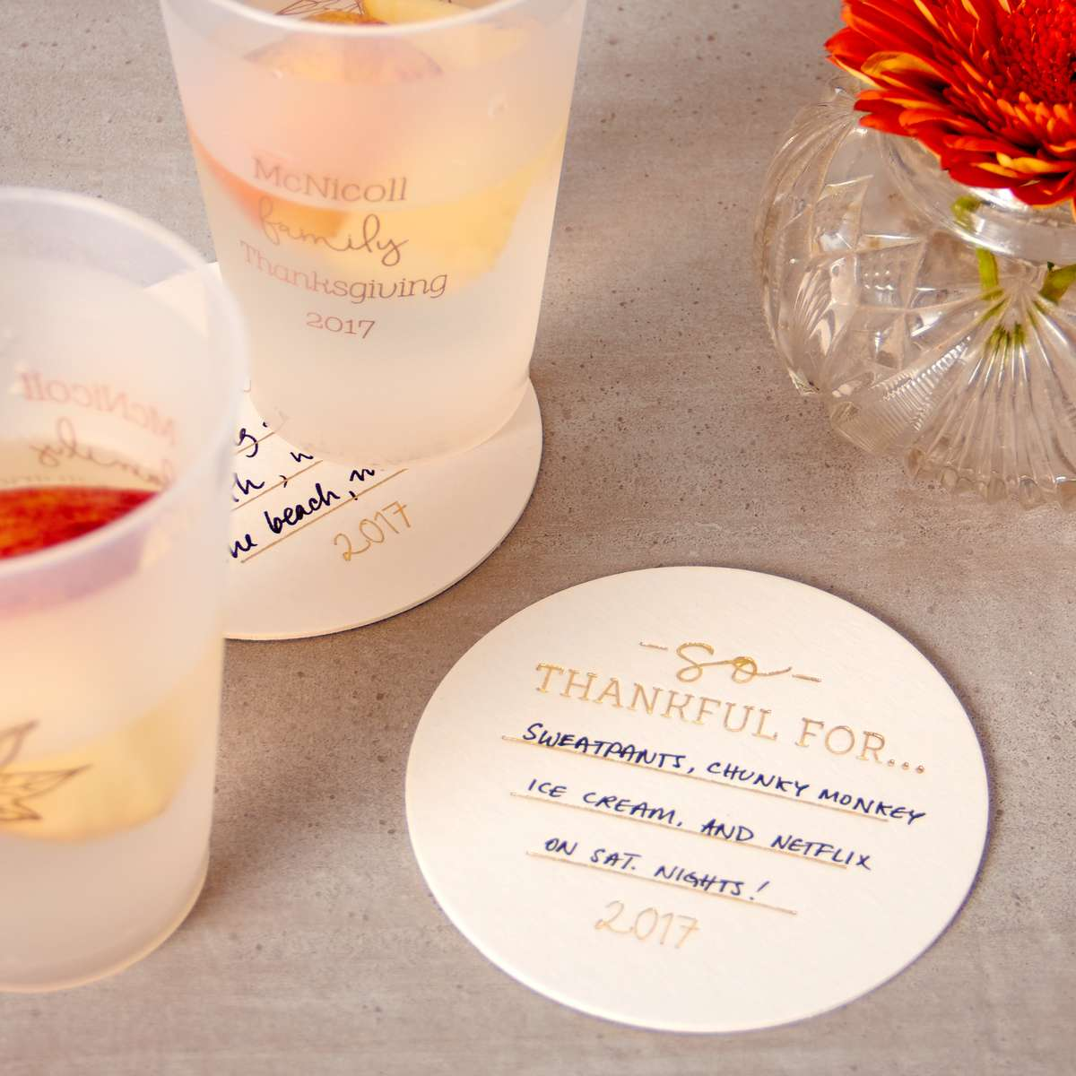 thanksgiving dinner ideas personalized matches